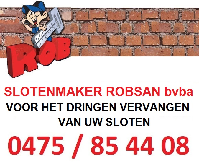 Slotenmaker ROBSAN bvba
