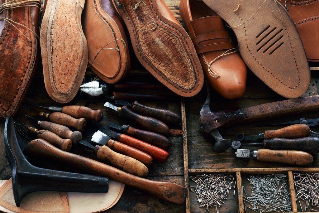 Ambachtelijke schoenmaker