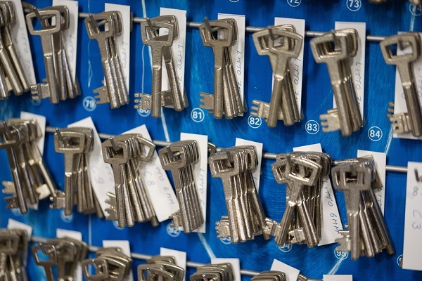 LITTO dubbelbaard sleutels