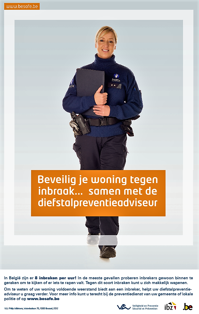 Inbraak preventief advies lokale politie